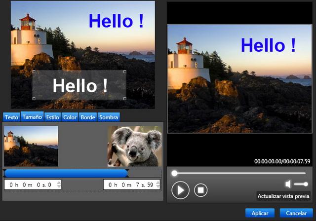 ¡El montaje, la edición y la difusión de tus películas en HD!