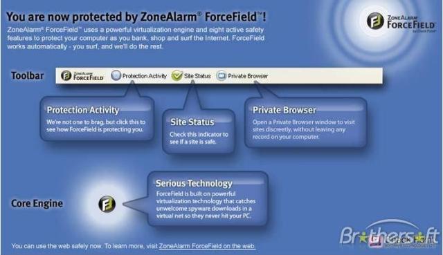 Ofrece libertad para navegar en Internet con una protección total !
