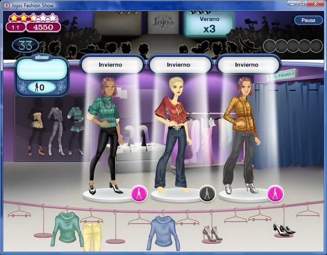 ¡Conviertete en una estilista y diviértete creando desfiles de moda!
