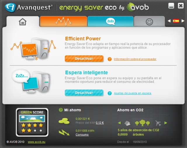 ¡Reduzca hasta un 40% el consumo de electricidad de su ordenador!