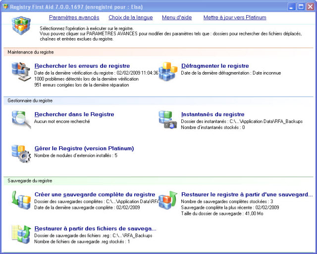 Analysez gratuitement votre registre Windows !