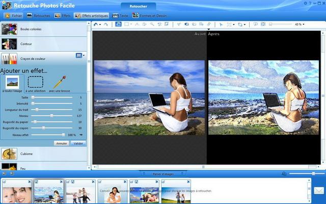 Modifiez et améliorez toutes vos photos !