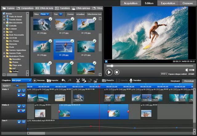 Edition, montage et partage de Vos Photos et Vidéos en HD !