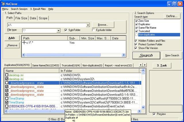 Sélectionnez rapidement les fichiers à supprimer grâce à la fonctionnalité de sélection intelligente.