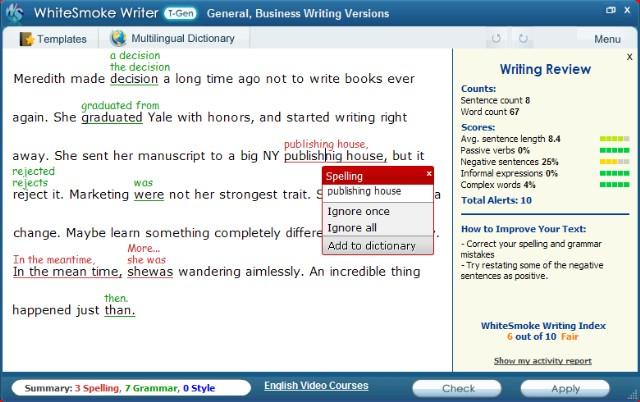 Rendez votre anglais écrit irréprochable !