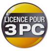 Licence pour 3 PC