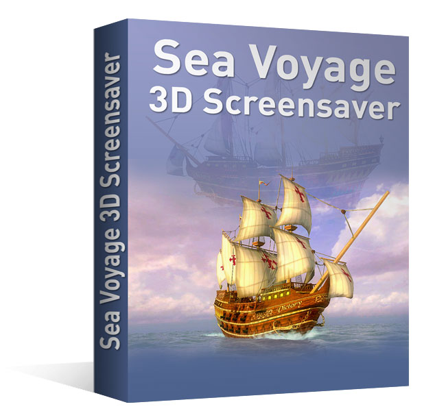Ecran de veille 3D - Sea Voyage