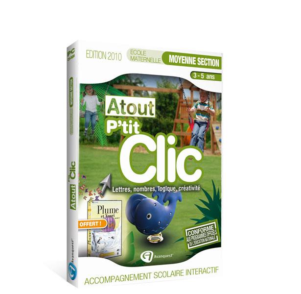 Atout P'tit Clic -Maternelle Moyenne Section