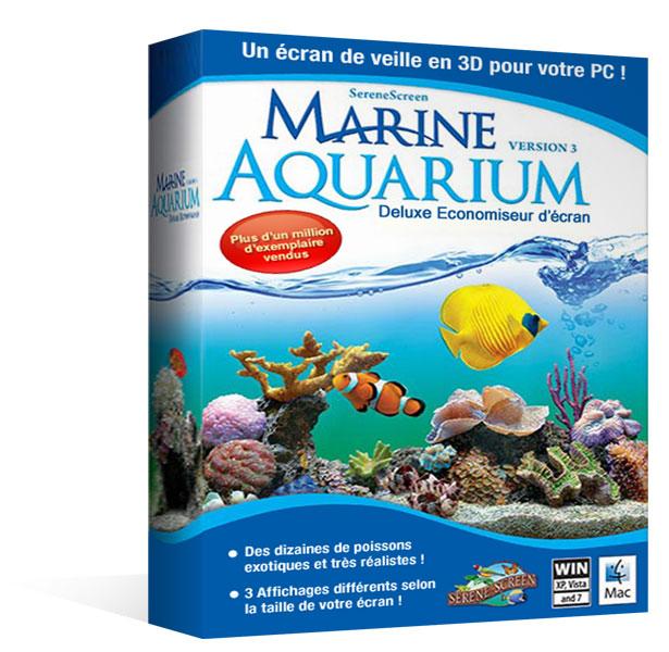 Marine Aquarium Economiseur d'écran