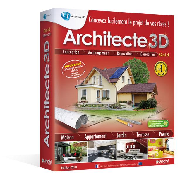 architecte 3d gold 2010 le logiciel d 39 architecture 3d
