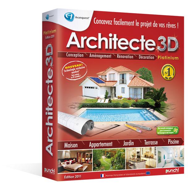 Architecte 3D nexGen™ 2011 Platinium