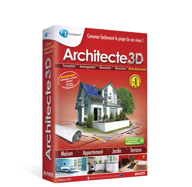 Architecte 3d silver advanced 2010 le logiciel d for Ou acheter architecte 3d