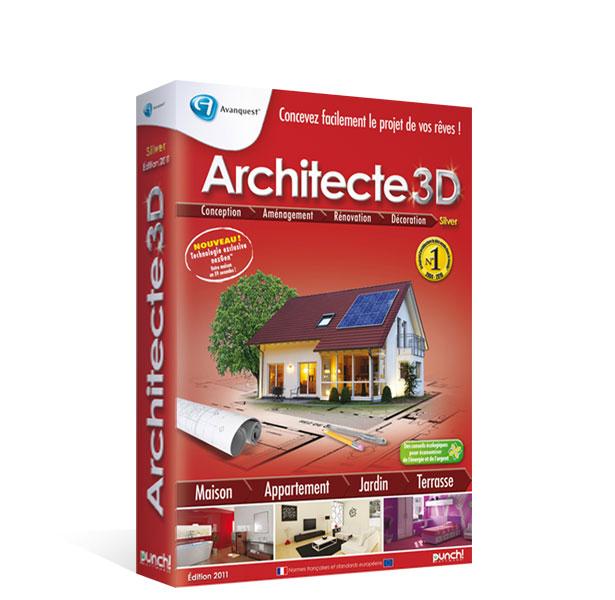 Architecte 3D nexGen™ 2011 Silver