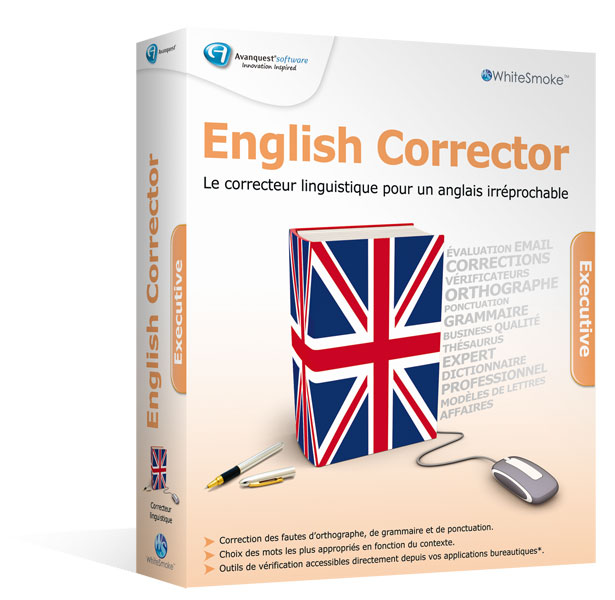 WhiteSmoke - English Corrector - Executive Edition 2010