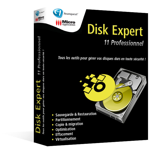 Disk Expert 11 Professionnel