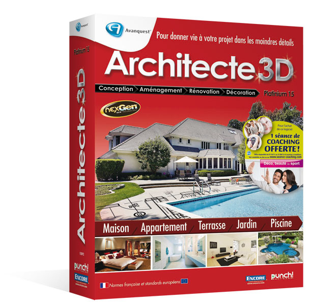 Architecte 3d ultimate 2012 le logiciel ultime d for Ou acheter architecte 3d