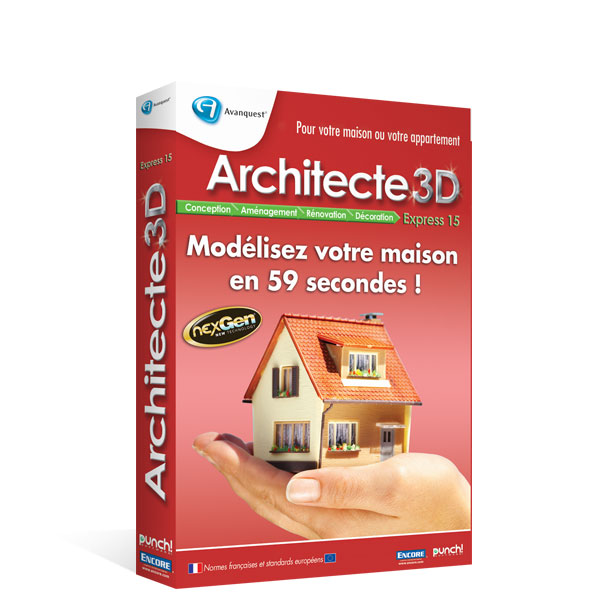 architecte 3d express 2012 le logiciel d 39 architecture 3d. Black Bedroom Furniture Sets. Home Design Ideas