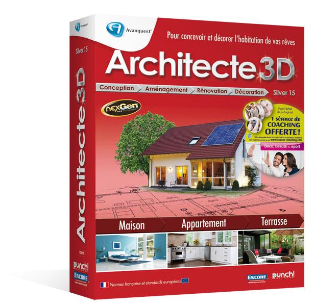 architecte 3d silver 2012 v15 le logiciel d