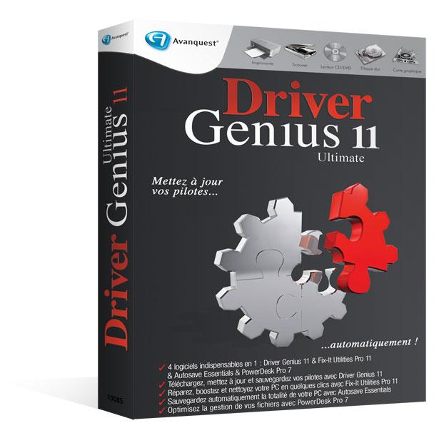 driver genius 11 ultimate profitez de 4 logiciels en 1. Black Bedroom Furniture Sets. Home Design Ideas