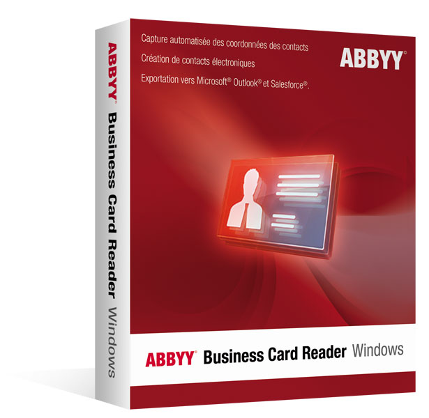 ABBYY Business Card Reader 2.0 pour Windows