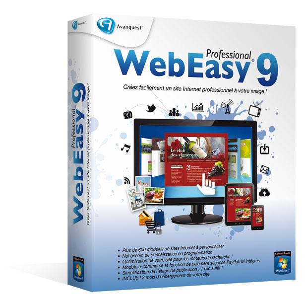 WebEasy9 Professional