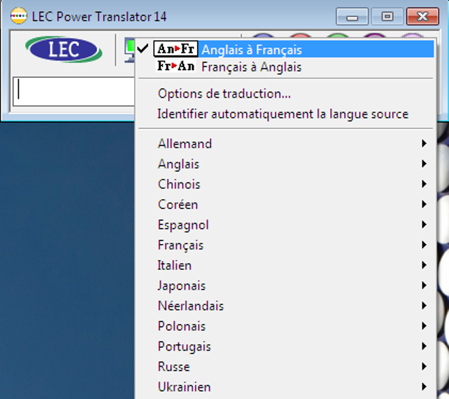 La solution ultime pour traduire en 13 langues !