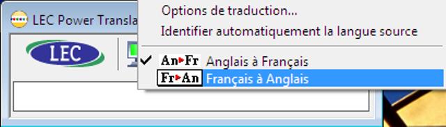 Le traducteur Français-Anglais / Anglais-Français rapide et efficace !