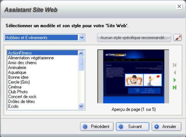 Gagnant du Gold Award 2012 de TopTenREVIEWS dans la catégorie des logiciels de création de site Web