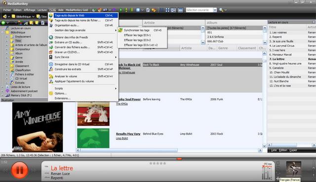 Le jukebox idéal pour écouter vos MP3 et gérer votre bibliothèque musicale !
