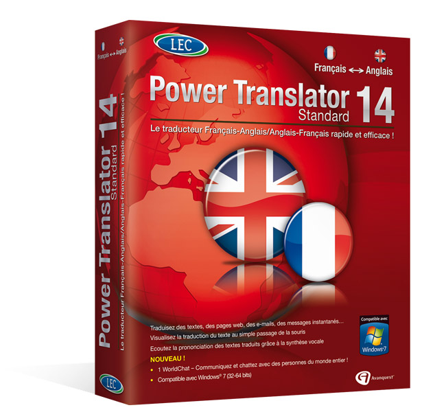 Power Translator 14 Standard - Français / Anglais