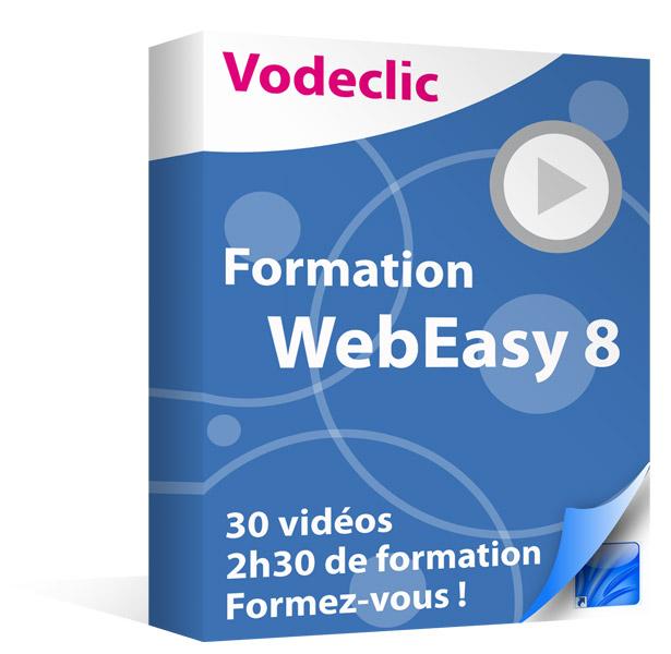 Formation vidéo WebEasy 8