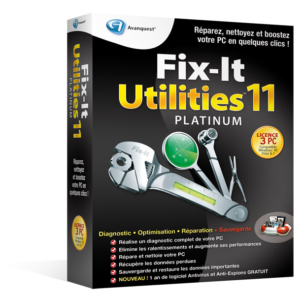 Fix-It Utilities 11 Platinum