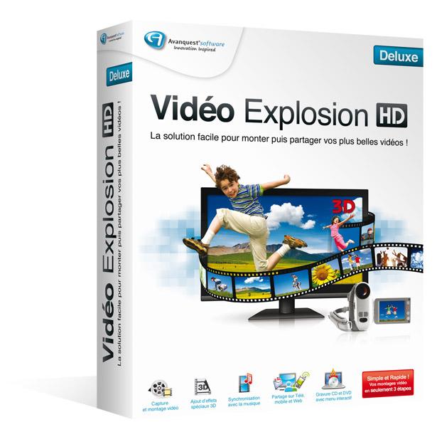 Vidéo Explosion HD Deluxe