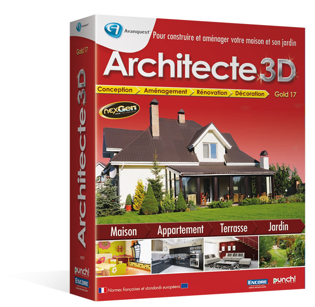 Architecte 3d gold 2013 le logiciel d 39 architecture 3d for Ou acheter architecte 3d