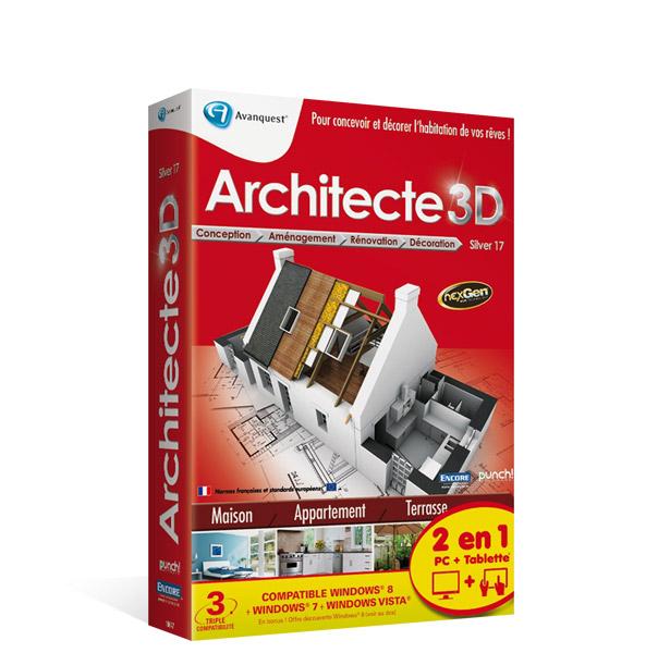 Architecte 3D Silver 2013 (V17) Mise à jour