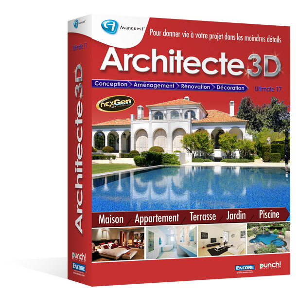 Architecte 3D Ultimate 2013 (V17) Mise à jour