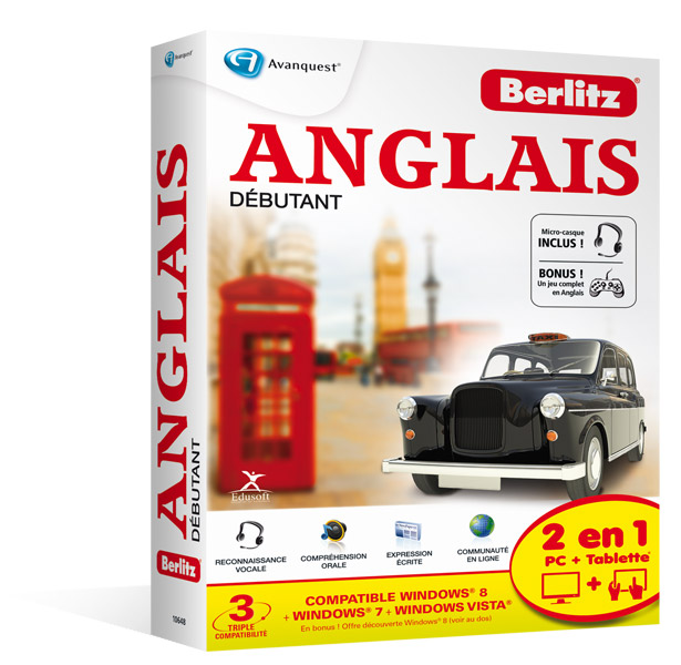 Berlitz English 2013 - Niveau Débutant