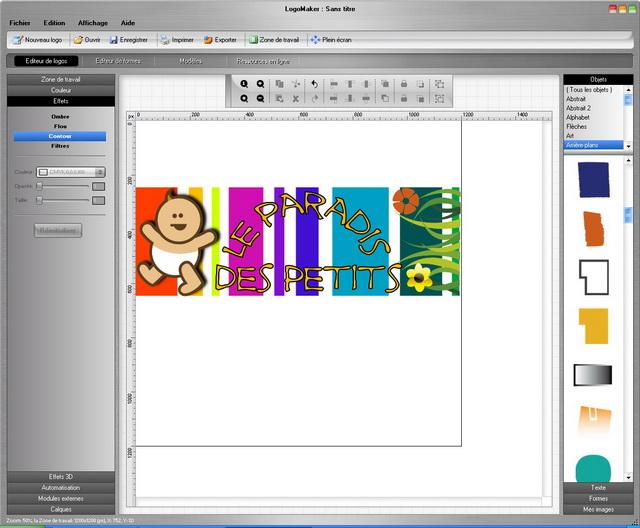 Créez vos propres logos en toute simplicité !