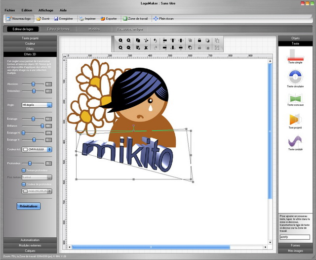 Logomaker le logiciel pour cr er le logo de votre for Logiciel paysagiste 3d professionnel