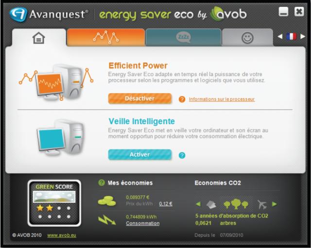 Réduisez jusqu'à 40% la consommation d'électricité de votre PC!