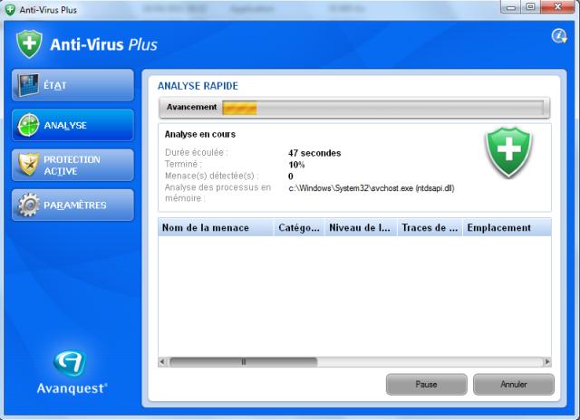 Enfin un Antivirus efficace qui ne ralentit pas votre PC !