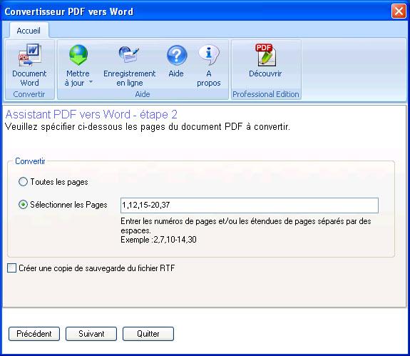 La solution pour récupérer le contenu de vos fichiers PDF !