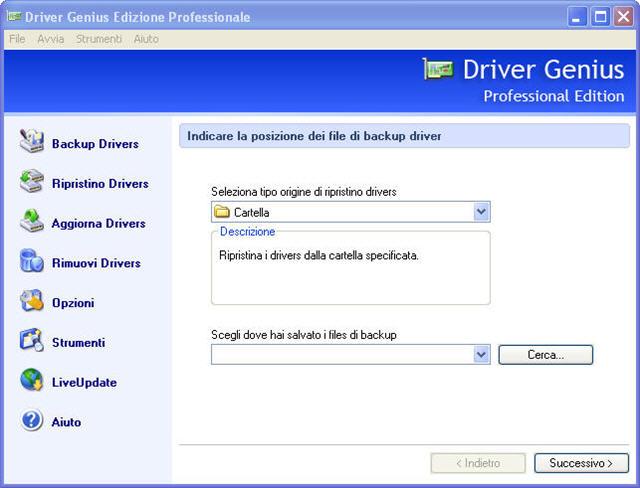 Fai un check-up dei driver!