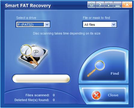 Un software che consente il ripristino dei dati persi - Supporta FAT 12/16/32