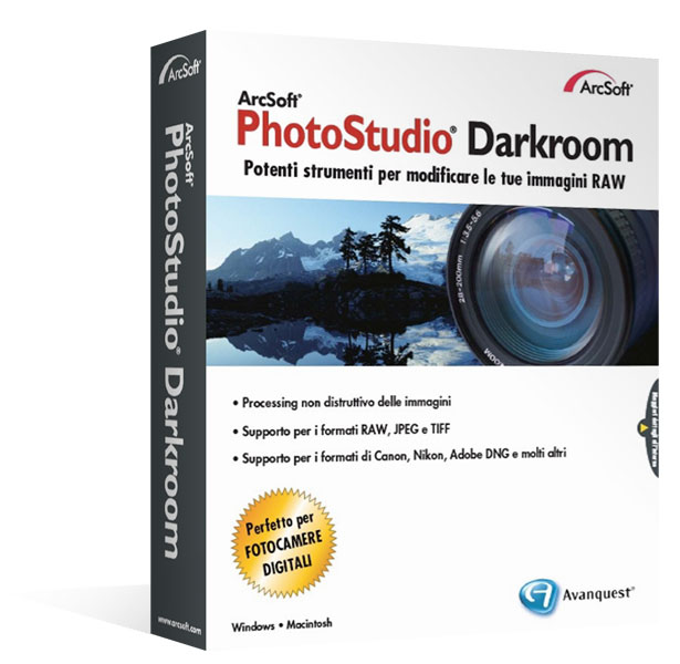 Arcsoft PhotoStudio Darkroom Windows/Mac