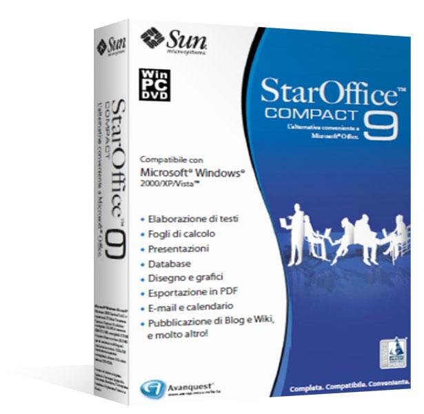 StarOffice™ 9 Compact