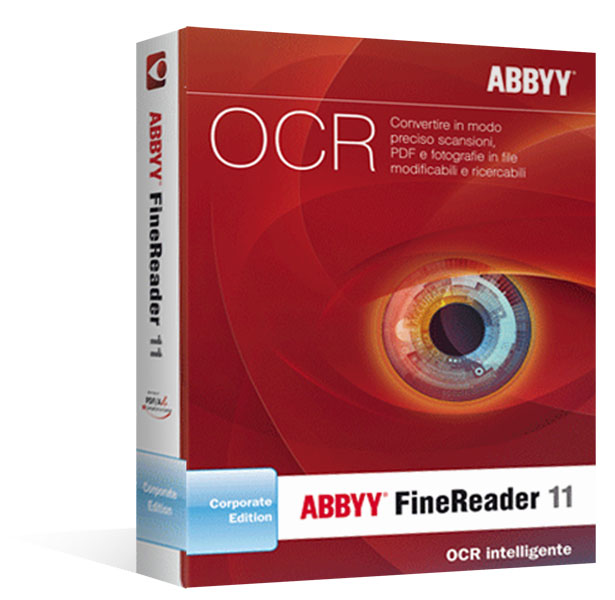 ABBYY FineReader 11 Corporate Edition - 1 licenza - Aggiornamento