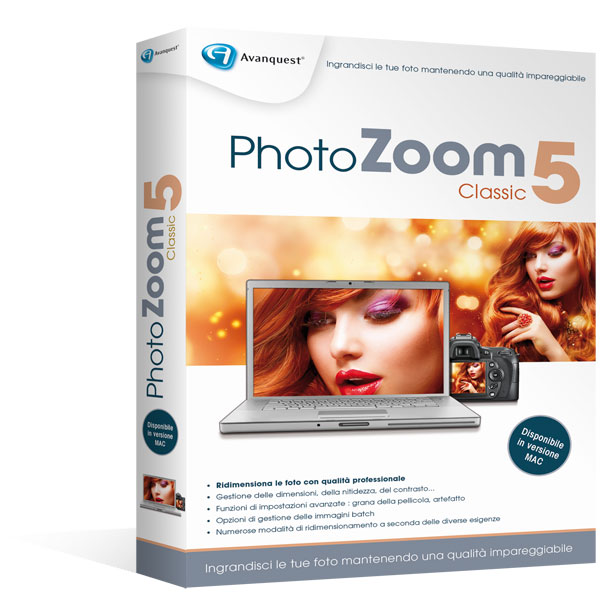 PhotoZoom Classic5 per Windows