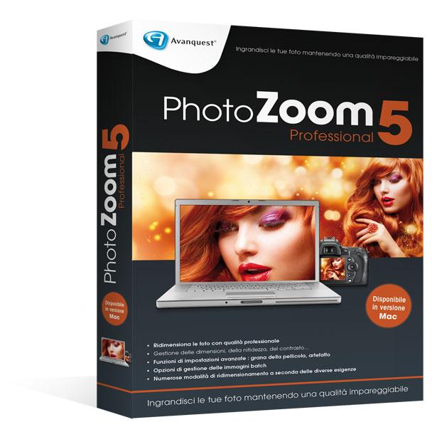 PhotoZoom Pro5 per Windows