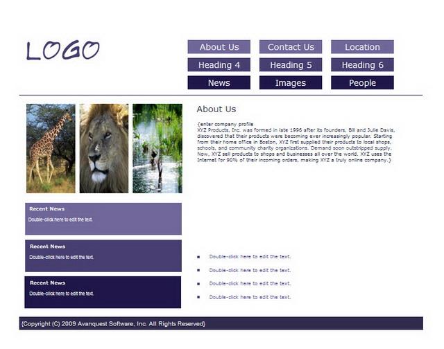 Create facilmente un sito Internet professionale su misura!